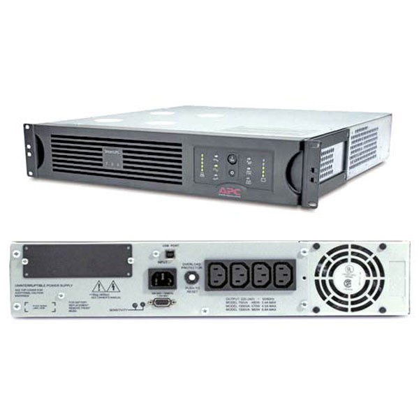 ИБП APC Smart-UPS 1500VA USB & Serial RM 2U 230V